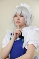 『ガタケット156』コスプレイヤー・新妻えいむさん<br>(『東方Project』十六夜咲夜)
