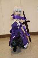 『ガタケット156』コスプレイヤー・魔闇さん<br>(『Fate/Grand Order』セイバーオルタ)