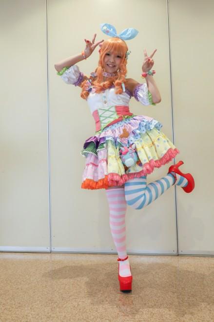 『ガタケット156』コスプレイヤー・えりをさん<br>(『アイドルマスター シンデレラガールズ』諸星 きらり)