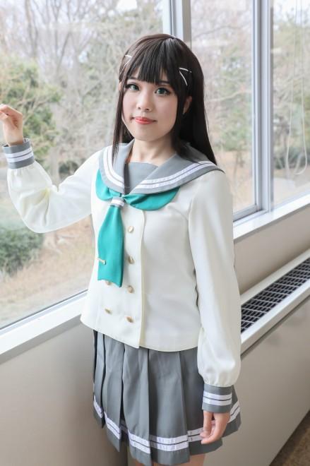 『ガタケット156』コスプレイヤー・あずきちさん<br>(『ラブライブ!サンシャイン!!』黒澤 ダイヤ)