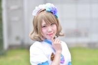 『AnimeJapan 2018』コスプレイヤー・とうふさん<br>(『ラブライブ!サンシャイン!!』渡辺曜)