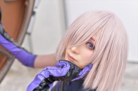 『AnimeJapan 2018』コスプレイヤー・カモミールさん<br>(『Fate/Grand Order』マシュ・キリエライト)