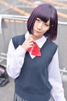 『AnimeJapan 2018』コスプレイヤー・相良ましろさん<br>(『クズの本懐』安楽岡花火)