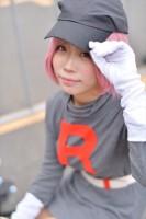 『AnimeJapan 2018』コスプレイヤー・ぺるさん<br>(『ポケットモンスター』ロケット団)