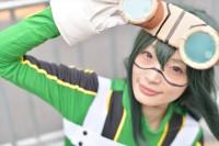 『AnimeJapan 2018』コスプレイヤー・れいにーさん<br>(『僕のヒーローアカデミア』蛙吹梅雨)