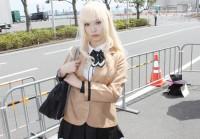 『AnimeJapan 2018』コスプレイヤー・ターニャさん<br>(『ラーメン大好き小泉さん』小泉さん)