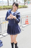 『AnimeJapan 2018』コスプレイヤー・音無のりさん<br>(『ラブプラス』高嶺愛花)