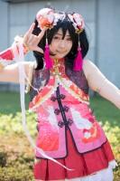 『AnimeJapan 2018』コスプレイヤー・鈴野陽葵さん<br>(『ラブライブ! スクールアイドルフェスティバル』矢澤にこ)