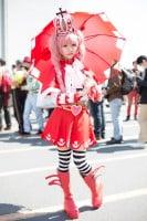 『AnimeJapan 2018』コスプレイヤー・海果さん<br>(『ワンピース』ペローナ)