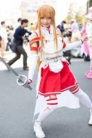 『AnimeJapan 2018』コスプレイヤー・もぐ汰さん<br>(『ソードアート・オンライン』アスナ)