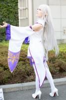 『AnimeJapan 2018』コスプレイヤー・SaLAさん<br>(『Re:ゼロから始める異世界生活』エミリア)