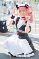 『AnimeJapan 2018』コスプレイヤー・りりいさん<br>(『シュタインズ・ゲート』フェイリス・ニャンニャン)
