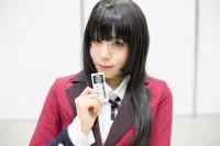 『AnimeJapan 2018』コスプレイヤー・ゆかにゅんさん<br>(『賭ケグルイ』蛇喰夢子)