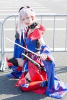『AnimeJapan 2018』コスプレイヤー・おわんくらげさん<br>(『Fate/Grand Order』宮本武蔵)