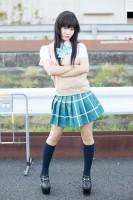 『AnimeJapan 2018』コスプレイヤー・シイナさん<br>(『To LOVEる -とらぶる- ダークネス』黄色の闇)