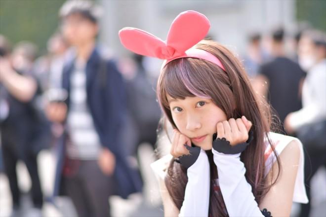 『AnimeJapan 2018』コスプレイヤー・あっぷるたゃさん<br>(『VTuber』キズナアイ)