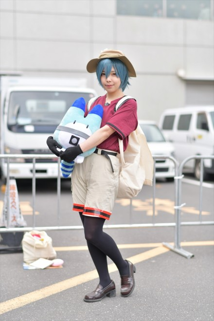 『AnimeJapan 2018』コスプレイヤー・土萠はぐさん<br>(『けものフレンズ』かばん)