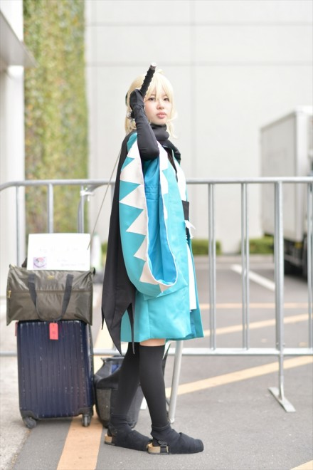 『AnimeJapan 2018』コスプレイヤー・桜田こよみさん<br>(『Fate/Grand Order』沖田総司)