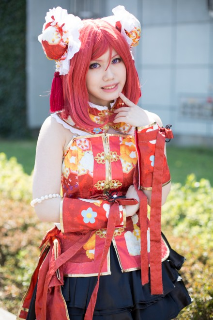 『AnimeJapan 2018』コスプレイヤー・まどかさん<br>(『ラブライブ! スクールアイドルフェスティバル』西木野真姫)