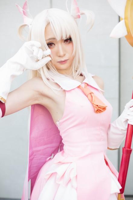 『AnimeJapan 2018』コスプレイヤー・カモミールさん<br>(『Fate/kaleid liner プリズマ☆イリヤ』イリヤスフィール・フォン・アインツベルン)