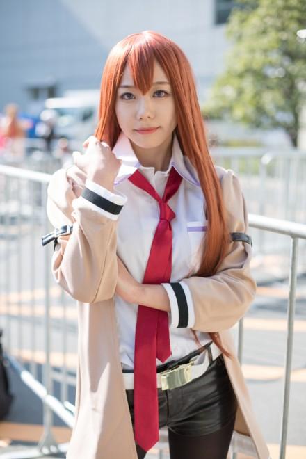 『AnimeJapan 2018』コスプレイヤー・つきこさん<br>(『シュタインズ・ゲート』牧瀬紅莉栖)