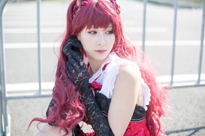 『AnimeJapan 2018』コスプレイヤー・テアルさん<br>(『アイドルマスター シンデレラガールズ』一ノ瀬志希)