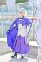 『コスプレフェスタTDC』コスプレイヤー・うりこさん<br>(『Fate/Grand Order』ジャンヌ・ダルク)