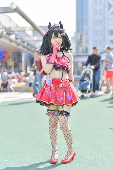 『コスプレフェスタTDC』コスプレイヤー・飴昔さん<br>(『ラブライブ!』矢澤 にこ)