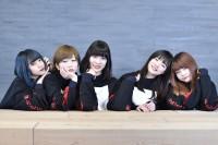 EMPiRE(左から)MiDORiKO、MAYU、YU-Ki、YUKA、YUiNA