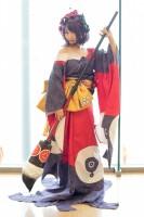 『コスプレ博inプラザ平成』コスプレイヤー・千弥さん<br>(『Fate/Grand Order』葛飾北斎)