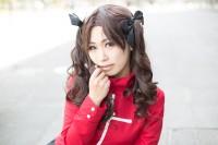 『コスプレ博inプラザ平成』コスプレイヤー・molleさん<br>(『Fate/kaleid liner プリズマ☆イリヤ』遠坂凛)
