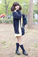 『コスプレ博inプラザ平成』コスプレイヤー・夜星りおんさん<br>(『テニスの王子様』白石友香里)