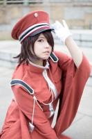 『コスプレ博inプラザ平成』コスプレイヤー・cHiyO.さん<br>(『千本桜』紅音鳴子)