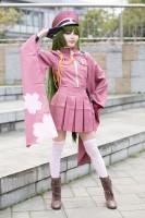 『コスプレ博inプラザ平成』コスプレイヤー・腿尻フェチの人さん<br>(『千本桜』初音ミク)