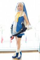 『コスプレ博inプラザ平成』コスプレイヤー・碧さん<br>(『GUILTY GEAR XX』ブリジット)