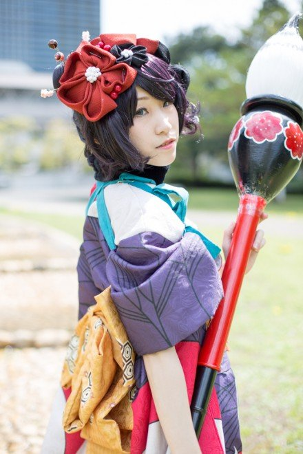 『コスプレ博inプラザ平成』コスプレイヤー・りなさん<br>(『Fate/Grand Order』葛飾北斎)