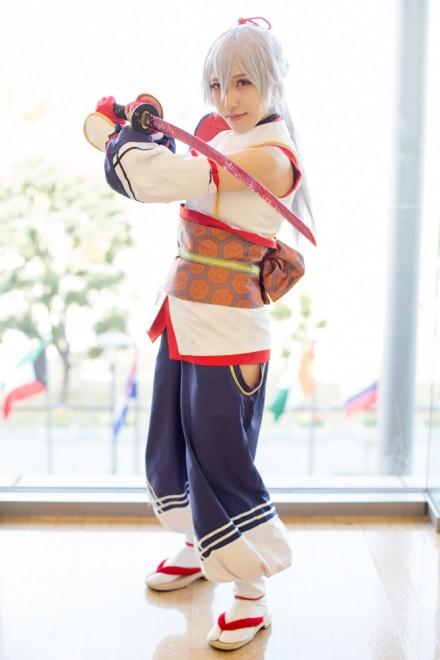 『コスプレ博inプラザ平成』コスプレイヤー・ひかなさん<br>(『Fate/Grand Order』アーチャー・インフェルノ)