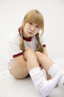 『サンクプロジェクト×ソフマップ』コスプレイヤー・眠兎媛夏さん<br>(『体操服』)