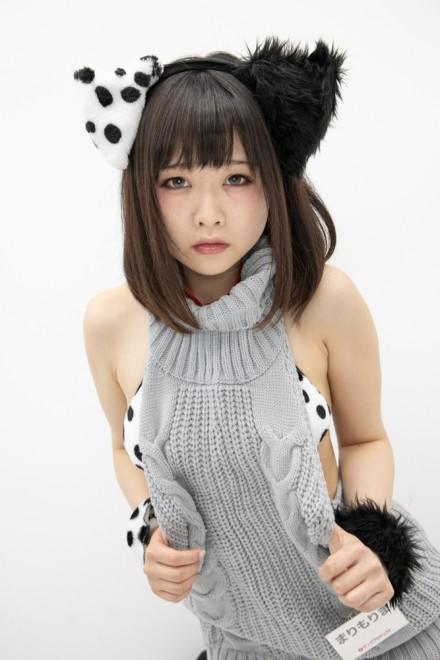 『サンクプロジェクト×ソフマップ』コスプレイヤー・まりもりまさん<br>(『オリジナル』犬)