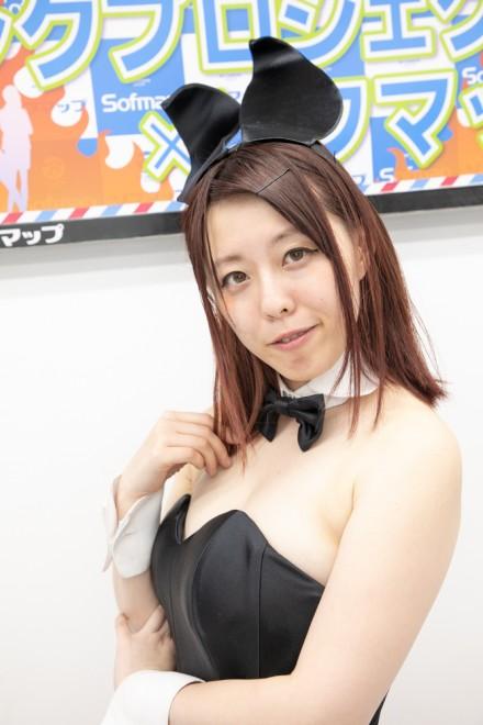 『サンクプロジェクト×ソフマップ』コスプレイヤー・さきさん<br>(『バニー』)