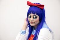 『生テレ コスプレフィナーレ』出演コスプレイヤー・ねむいりささん<br>(『ポプテピピック』ピピ美)