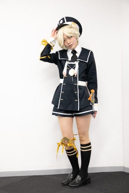『生テレ コスプレフィナーレ』出演コスプレイヤー・月音夢羽さん<br>(『刀剣乱舞』五虎退)