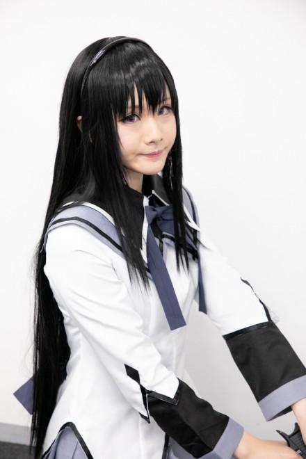 『生テレ コスプレフィナーレ』出演コスプレイヤー・Sasyaさん<br>(『魔法少女まどか マギカ』暁美ほむら)