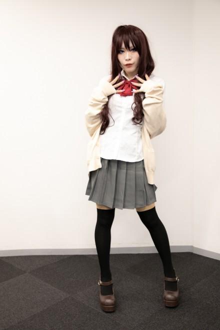 『生テレ コスプレフィナーレ』出演コスプレイヤー・L8-eluha-さん<br>(『アイドルマスター シンデレラガールズ』一ノ瀬 志希)