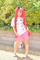 『acosta! コスプレイベント』(4月22日 池袋サンシャインシティ)コスプレイヤー・羽花さん<br>(『這いよれ! ニャル子さん』クー子)