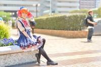 『acosta! コスプレイベント』(4月22日 池袋サンシャインシティ)コスプレイヤー・葵衣さん<br>(『ラブライブ!』星空 凛)