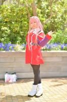 『acosta! コスプレイベント』(4月22日 池袋サンシャインシティ)コスプレイヤー・SeSaMiさん<br>(『ダーリン・イン・ザ・フランキス』ゼロツー)