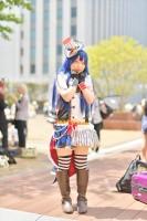 『acosta! コスプレイベント』(4月22日 池袋サンシャインシティ)コスプレイヤー・あんずあめさん<br>(『ラブライブ!』園田海未)