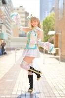 『acosta! コスプレイベント』(4月22日 池袋サンシャインシティ)コスプレイヤー・桐月ちささん<br>(『ラブライブ!』南ことり)
