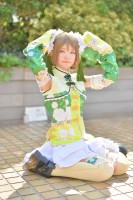 『acosta! コスプレイベント』(4月22日 池袋サンシャインシティ)コスプレイヤー・ゆらとるたさん<br>(『ラブライブ!』小泉 花陽)